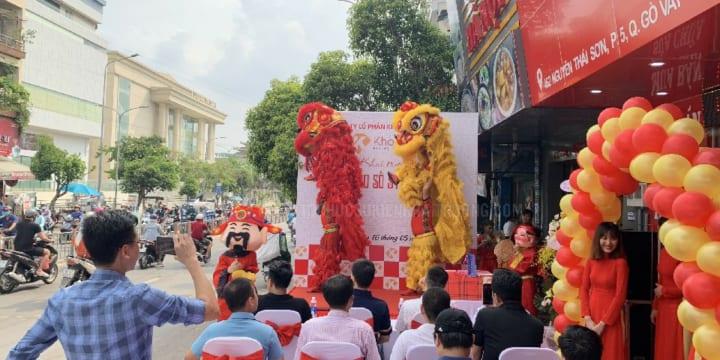 Công ty tổ chức lễ khai trương tại Bình Thuận