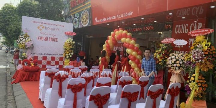 Tổ chức lễ khai trương chuyên nghiệp giá rẻ tại Đồng Nai