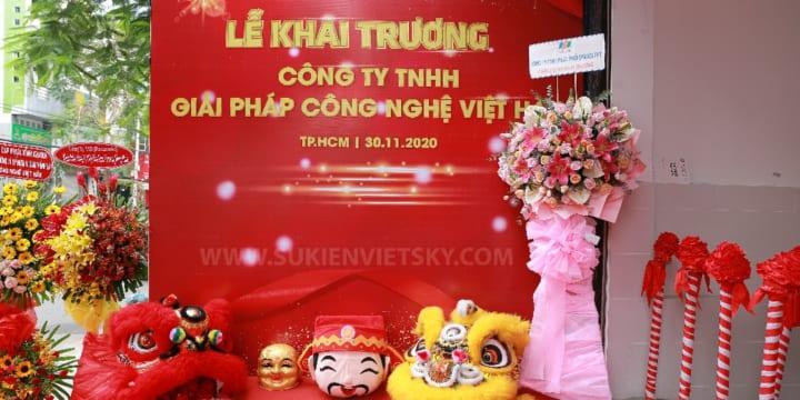 Công ty tổ chức lễ khai trương uy tín tại Đắk Lắk