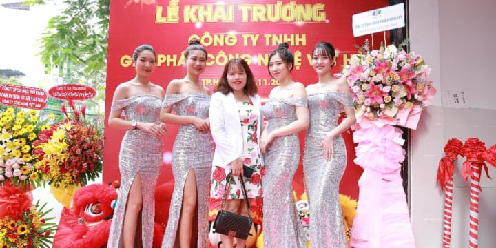 Dịch vụ tổ chức lễ khai trương giá rẻ tại Hà Nội