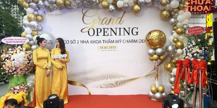 Công ty tổ chức lễ khai trương chuyên nghiệp tại Quảng Nam