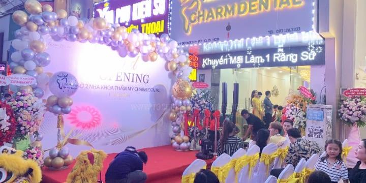 Tổ chức lễ khai trương chuyên nghiệp giá rẻ tại Quảng Bình