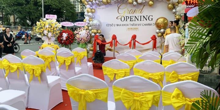 Tổ chức lễ khai trương chuyên nghiệp hàng đầu tại Quảng Trị